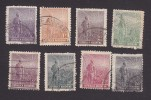 Argentina, Scott #179-184, 187-188, Used, Agriculture, Issued 1911 - Used Stamps