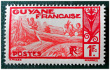 GUYANE - YT 124A NEUF - PIROGUE SUR LE MARONI (1929-38) - Nuevos