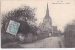 49 SERMAISE Petit Chemin Du VILLAGE  EGLISE Timbré 1907 - Unclassified