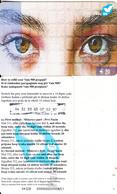 KOSOVO - Eyes, Vala 900 Prepaid Card 20 Euro, Used - Kosovo