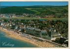 CABOURG   LA PLAGE  LE  FRONT  DE MER ET LE GRAND HOTEL   (VIAGGIATA) - Cabourg