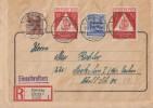 SBZ R-Brief Mif Minr.203,194,2x 228 Zwickau 13.11.48 - Zone Soviétique