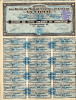 LA CIOTAT-Action De 100frs Sté Des Bains De Mer Du Casino & Du Golfe---1929 Coupons Attachés - Casino
