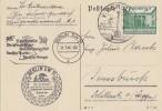 DR Karte EF Minr.743 SST Berlin 31.3.40 Gel. Nach Innsbruck - Briefe U. Dokumente