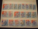 ROMANIA - P.A. 1964 SPAZIO 20  Valori(10 DENT. + 10 ND) - NUOVI(++) - 1948-.... Republics