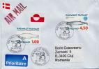 Postal History Cover: Greenland - Walvissen