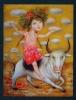 BELARUS  -  Taurus  Used Postcard As Scans - Astrology