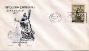 ARGENTINIEN 1955 - Revolucion Libertadora, 1,5 Pesos Auf Schmuckbrief (Erotikmotiv) - Argentinien