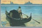 VENEZIA -  GONDOLA - NUOVA - - Barche