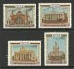RUSSLAND RUSSIA 1954 = 4 Werte Aus Michel 1731 - 1736 Ausstellung Für Wirtschaft MNH - 1923-1991 USSR
