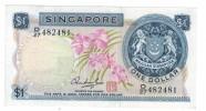 Singapore, 1 Dollar AUNC,   FREE SHIP. TO USA. - Singapore