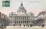 St. Saint-Etienne - Hôtel De Ville - Edition J.M. - Carte Colorisée - Saint Etienne