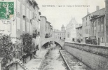 Montbrison (Loire) - Quai Du Vizézy Et Caisse D´Epargne - Edition Mertens Et Jabouley - Montbrison