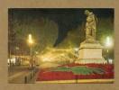 CPM  FRANCE  34  ~  BÉZIERS  ~   1074  La Statue Et Les Allées Paul Riquet La Nuit  ( Apa-Poux 80/90 ) - Beziers