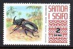 Samoa 1972-76 Wildlife Definitives - 2s Rhinocerous Beetle MNH - Samoa