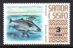 Samoa 1972-76 Wildlife Definitives - 3s Skipjack Tuna MNH - Samoa