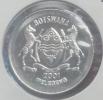BOTSWANA 50 THEBE 2001 PICK KM29 UNC - Botswana