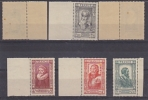 France 1943 Famous People / Charity 6v ** Mnh (2 Stamps With Brown Spot In Gum-see Scan) (25610) - Frankrijk