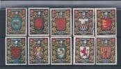 Vignettes Of Matches Of Paper. Hacienda Publishes In Spain.Vignettes De Matchs De Papier.Hacienda Publie En Espagne. - Tobacco