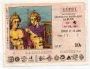 Billet Loterie Zodiaque Lion 19 Juin 1985 Gueules Cassées - Billets De Loterie