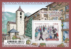 Andorre 2015 - Yv N° 771 ** - Bloc Dansa Folklorica - El Contrapàs - Ordino (Mi N° BL 12) - Frans-Andorra