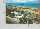 CARTOLINA VG ITALIA - RIMINI - Spiaggia E Molo - 10 X 15 - ANNULLO 1972 - Rimini