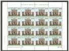 PAKISTAN 2015 MNH - 100 Years Of URDU In Turkey, A New Milestone, Istanbul University, Alphabet, Full Sheet Of 16 Stamps