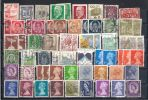 Lot 150 World 8 Scans  394 Different Mainly Small Size - Timbres