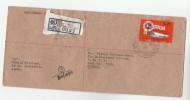 REGISTERED Senkadagala SRI LANKA  To UNDP UNITED NATIONS  Tyre Corp Stamps Un Cover - Sri Lanka (Ceylon) (1948-...)
