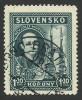 Slovakia, 1,20 K. 1939, Sc # 39, Mi # 47, Used. - Slovakia