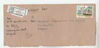 REGISTERED Maharagama SRI LANKA COVER Transport BUS Stamps - Sri Lanka (Ceylon) (1948-...)