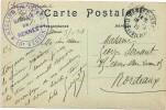35 -Rennes - Cachet Magasin De Rennes 'Atelier De Coupe De 1918 Sur CP De Rennes Maison Renaissance - Guerra Del 1914-18