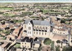BOUSSAY L église En Avion Au Dessus CPSM - Boussay