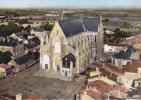 BOUSSAY L église Et Le Bourg En Avion Au Dessus CPSM - Boussay
