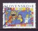 SLOWAKEI - 2004 - MiNr. 496 - Weihnachten - Gestempelt - Slowakije