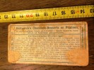 ANCIEN CHROMO CHOCOLAT STOLLWERCK FRERES DE NOORDSCHE STORMVOGEL - Vieux Papiers