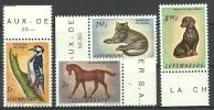 Luxemburg 1961, Nr. 637-40, Postfrisch - Ungebraucht
