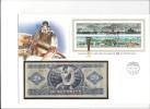 13173 -   Lettre Billet  20 Forint 1975 Cover Budapest 03.10.1986 - Hongrie