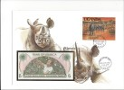 13176 -   Lettre Billet 5 Shillings Cover  Kampala 22.08.1983 - Ouganda