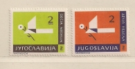 YOUGOSLAVIE  ( EU - 150 )  1961  N° YVERT ET TELLIER  N° 47/48  N* - Beneficiencia (Sellos De)