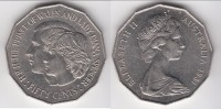 **** AUSTRALIE - AUSTRALIA - 50 CENTS 1981 PRINCE CHARLES AND LADY DIANA **** EN ACHAT IMMEDIAT !!! - Monnaie Décimale (1966-...)
