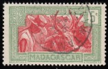 MADAGASCAR (Malagasy) - Scott #150 Hova With Oxen / Used Stamp - Used Stamps