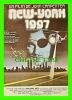 """AFFICHES DE FILM """"NEW-YORK 1997""""   KURT RUSSEL, LEE VAN CLEEF, ERNEST BORGNINE - No E 109, ÉDITIONS F. NUGERON - - Affiches Sur Carte"""