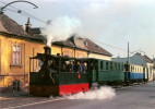AK Eisenbahn NÖ Badner Bahn Baden Waltersdorfer Straße Wiener Lokalbahn WLB Dampftramway Lok Zug Krauss Österreich - Trains