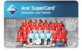 Germany - Aral - Carte Cadeau - Carta Regalo - Bayern München Fussball - Football - Mannschaft - Team 2015 / 2016 - Rar - Frankreich