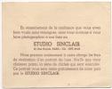 Photo. Carte Publicité. Studio Sinclair. Paris. Rue Royale. Cachet Au Dos 1949. - Ohne Zuordnung