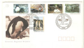 Carta De Australian Antartic Con Serie 90/4. - Territorio Antártico Australiano (AAT)