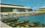 Johnston Island, US Military Base Central Pacific Ocean Hawaii, Speedboat Marina, C1950s/60s Vintage Postcard - Postcards