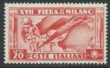 1936 REGNO FIERA DI MILANO 20 CENT MNH ** - W267 - Ongebruikt
