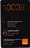 ARMENIA - Orange Mini Prepaid Card 1000 AMD, Exp.date 31/12/13, Used - Armenië